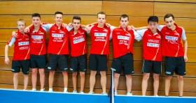 1. und 2. Jungen U18 beim Rückrundenauftakt 2014