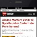 DJK Homepage auf Smartphone 5