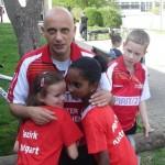 STefan mit Jovana Milka und Tim