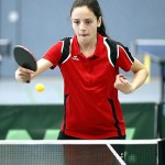 Städteolympiade 2014 - Bianca Tovirac Rückhand