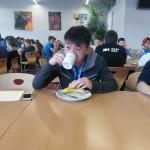 Städteolympiade 2014 - Sen Wang beim Essen
