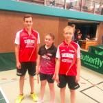 20140620-Bundes Championat 2014 Lukas Haug Lidija Nikolic Tom Gehring