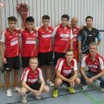 Deutsche MM U15 Notzingen Spieler und Betreuer