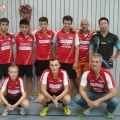 Deutsche MM U15 Notzingen Spieler und Trainer
