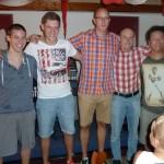 Sieger Clickball Saisonabschlussfest
