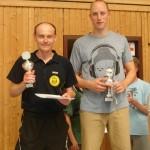 Dennis Wiese und Dieter Klemann Clickball und Kuno Walter Turnier