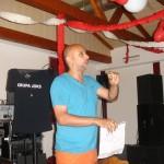 Rede Stefan Clickball und Kuno Walter Turnier Vereinsfeier