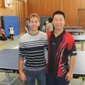 Mu Hao und Jens Felger