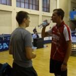 2014-10-06 Jugendaustausch in Samara (23) Bernd Müller Lukas Haug Coaching