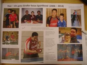 Hao 8 Jahre Sportbund