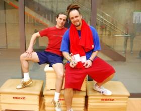 2014 Vereinsmeisterschaften - Sieger Herren Doppel Salvatore Rendine und David Zirra