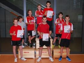 2014 Vereinsmeisterschaften - Sieger Jugend