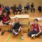Jugendweihnachtsfeier Sieger der Trostrunde: Timo Beyer Timo Brieske Hannes Bauer
