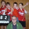 U15.2 mit MF Alfred Bauer - Meister U15 Kreisliga Herbstrunde