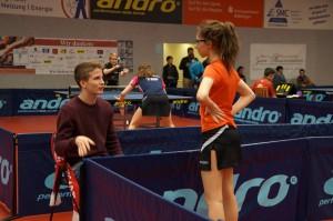 Coach Gabriel mit Ronja