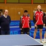 DJK SB mit den Schiedsrichtern Bernd Kaltenbach, Olaf Kath und Wolfram Auch