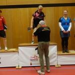 BaWü EM Leistungsklassen 2. Platz Antje Damen B