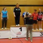 BaWü EM Leistungsklassen 3. Platz für Antje und Jasmin im Damen B Doppel