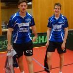 BaWü EM für Leistungsklassen 3. Platz Doppel Herren A Tim und Gabriel
