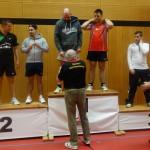 BaWü EM für Leistungsklassen 3. Platz Doppel Herren B Marcel
