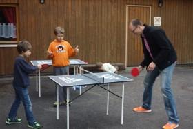 Vereinsfeier Dennis Wiese spielt mit Andy Goerke - Schiedsrichter Hagen Ehrman