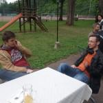 Vereinsfeier Max Schneider und Julian Martucci