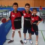 1. Heimspieltag 15.16 Jungen UU15.3 Zhang und Kessler