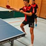 Moritz Feucht mit Radovan Kolarski im Doppel