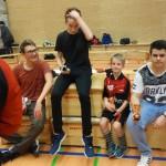 Jugendweihnachtsfeier 2015 Sieger Minitisch-Turnier Titus Jens Jonathan Radovan