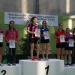 Siegerehrung Gold Ronja Doppel