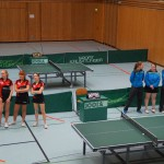 Damen 1 gegen Weinheim
