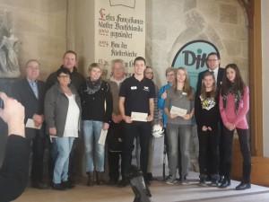 DJK Gute Jugendarbeit 2016 Gewinner