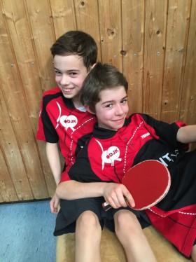 Luca und Andy
