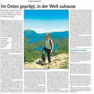 Stefan Krieger Weltreise