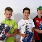 2017-7-22 Jugendvereinsmeisterschaft und Feier (58) Jonathan Fuchs Luca Pollich und Jannik Lippmann