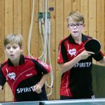 2017-18 Erster Heimspieltag inkl. Elternnachmittag Saison 2017-18 (10) Bjarne Munz und Kevin Knuplesch