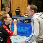 2017-10-07 Jugend-Bezirksmeisterschaften in der Halle Nord (32) Tim und Michael Erbst