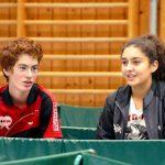 2017-10-07 Jugend-Bezirksmeisterschaften in der Halle Nord (45) Tillmann Summerer und Lisa Kerelaj