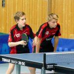 2017-10-07 Jugend-Bezirksmeisterschaften in der Halle Nord (61) Tim Erbst und Marius Gehring