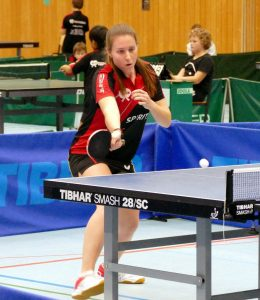 2017-10-21 Heimspieltag in der Halle Nord (5) Lara Engel