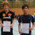 BZM Doppel U18 3. Platz Jannis Hartmann Marcel Do