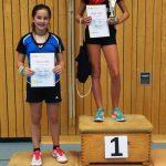 BZM Mädchen U12 Julia Liebert und Jovana Nikolic