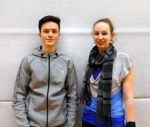 Bufdi Duo Jan Rahle und Mareike Spieß