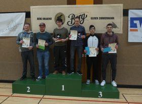 6-1-2018 Turnier in Berg Claudius Hini und Sarhad Noori 3. Platz