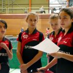 2018-02-03 Heimspieltag Halle Nord (32) Mädchen U18 2