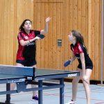 2018-02-03 Heimspieltag Halle Nord (7) Lisa Kerelaj und Magdalena Savovic