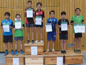 2017-07-14 Turnier SV Sillenbuch Sieger JU13 Doppel