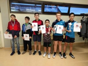 2019-01-12 Turnier Weil der Stadt - Sieger JU15