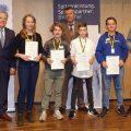 Sportkreisjugendehrung 2019 - Schairer, Ramona Betz, Moritz Männle, Maixner, Peter Waddicor, Timo Beyer, Timo Brieske