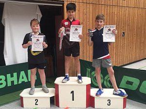 Felipe Friebertshäuser Turniersieger in Laupheim am 11.05.2019